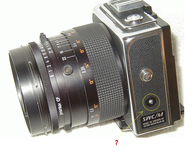 Mystery hole on the Hasselblad SWC/M CF | Photo net
