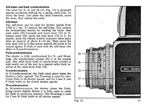 Hasselblad 500C flash synch and shutter questions | Photo
