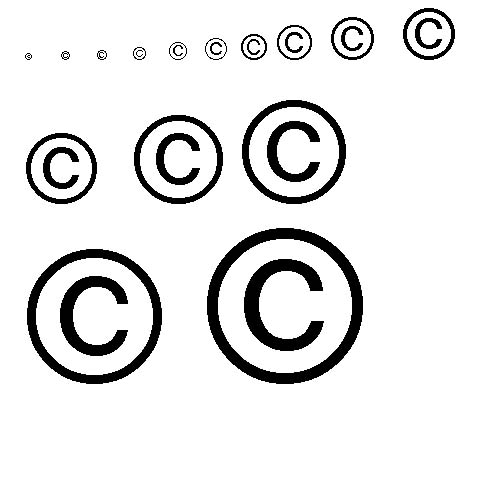 Copyright Symbols For You To Use Photo Photography Forums