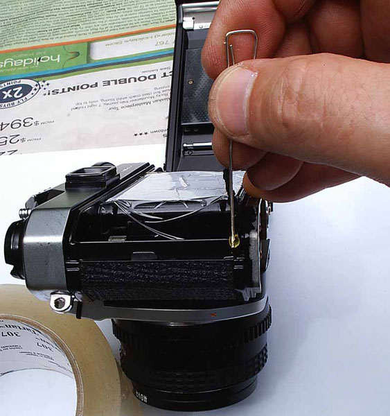HOW TO REPLACE LIGHT SEALS WITHOUT USING FOAM STRIPS, MOVIE