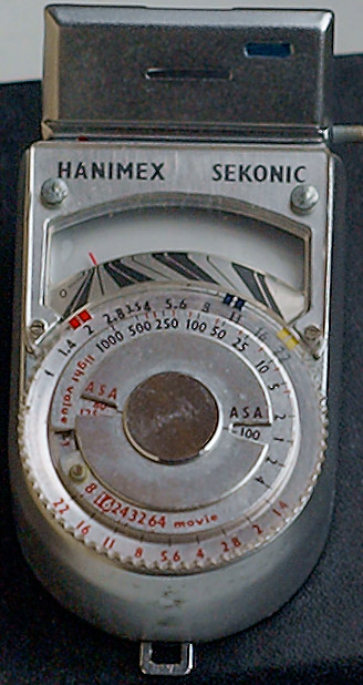 Help with using an old Hanimex Sekonic light meter | Photo