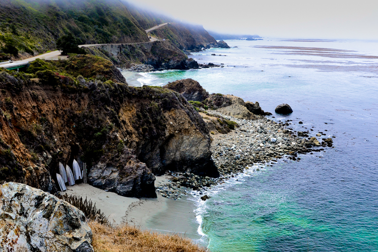Big Sur with boats on shore.jpg