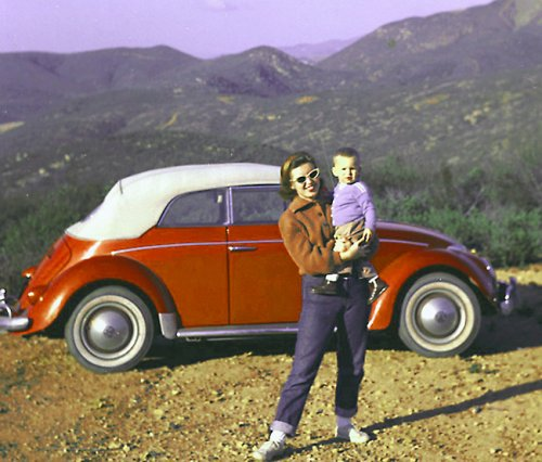 Carole med size in Cuyamaka Park and Dave and our VW SD copy,redder.jpg