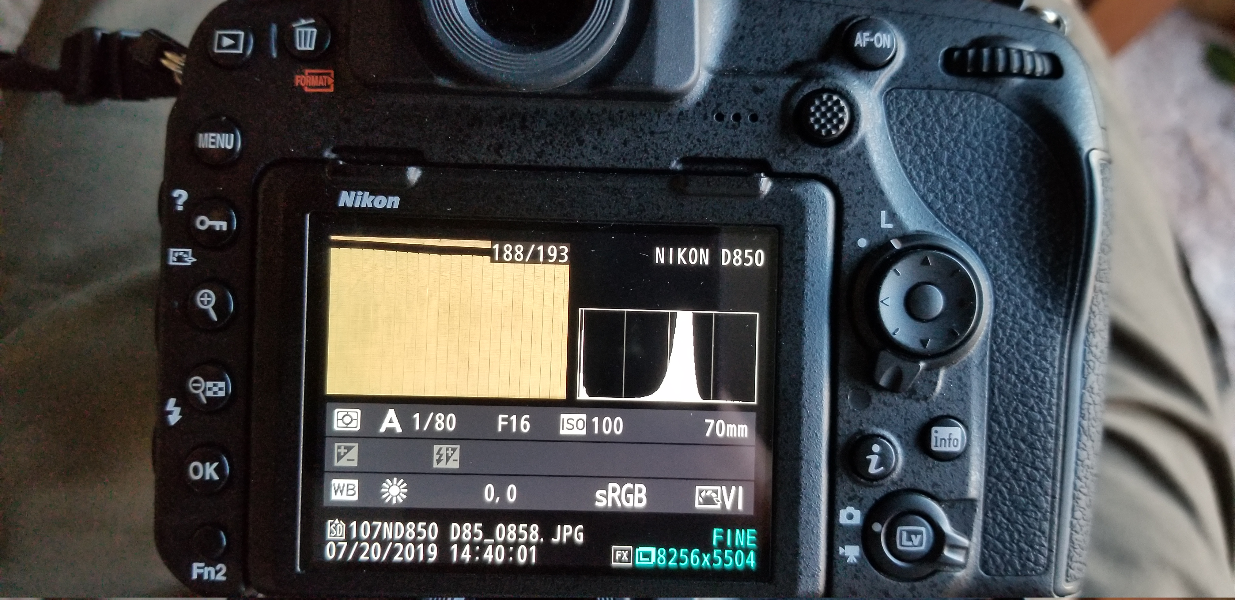 D850 underexposing in Aperture priority mode | Page 2