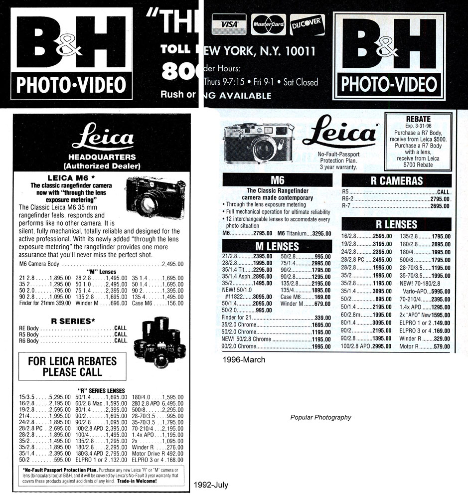 Leica-prices-B&H-PP-1992-07-and-1996-03.jpg