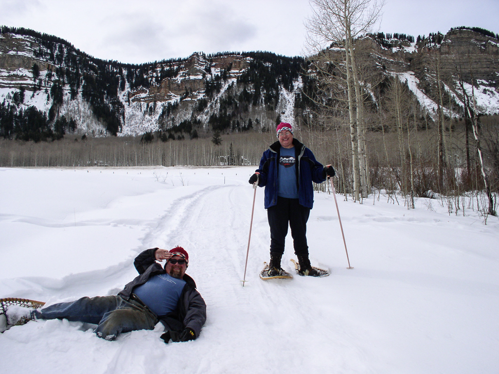 Tom and Cris on Snowshoes.jpg